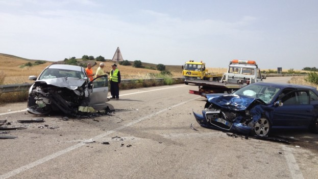Grave incidente sulla Matera Metaponto