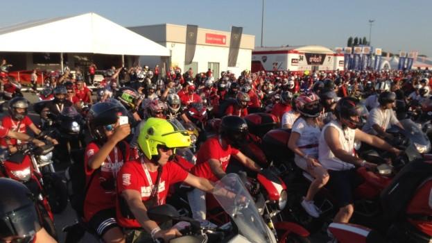 Anche tanti motociclisti lucani al World Ducati Week