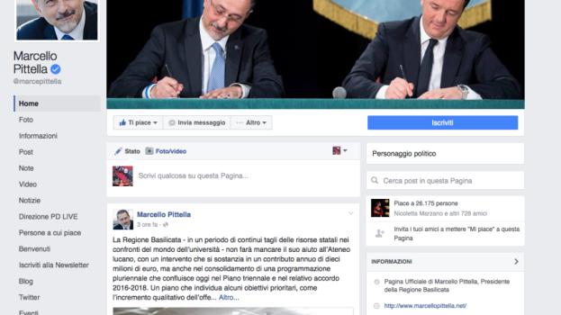 LO STRANO CASO DELLA GARA PER GESTIRE I SOCIAL DI PITTELLA