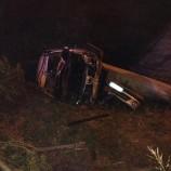 Matera: auto precipita dal ponte di via Levi dopo aver investito un passante