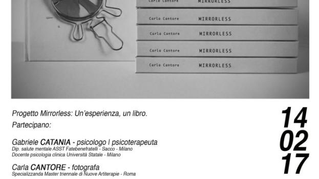 """AMORE ALLO SPECCHIO """"MIRRORLESS"""". DOMANI LA PRESENTAZIONE A MATERA"""