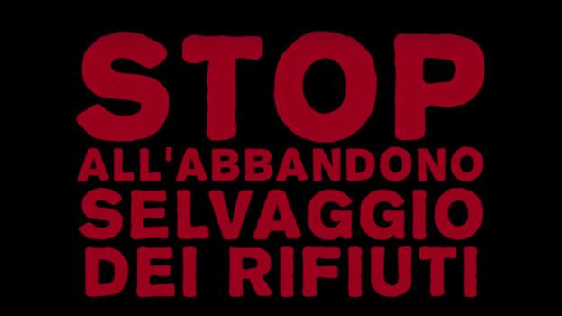 #NONFARLO, il Comune di Pisticci dice stop all'abbandono selvaggio dei rifiuti