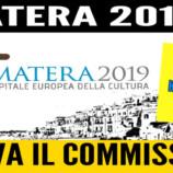 Il consigliere regionale Perrino punta il dito sul ruolo di Nastasi per Matera 2019