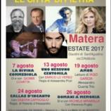 Teatro a Sant'Agostino, Le Città di Pietra – Matera Estate 2017