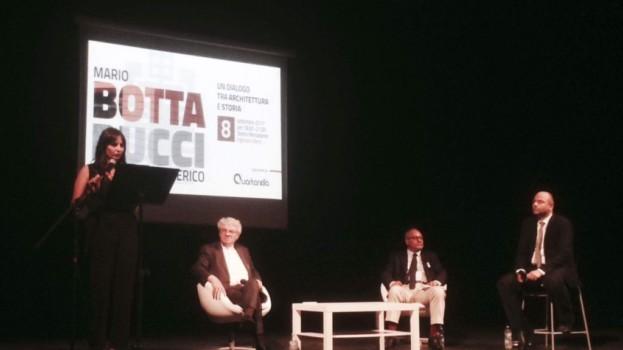 MATERA ED ALTAMURA A LEZIONE DALL'ARCHISTAR MARIO BOTTA
