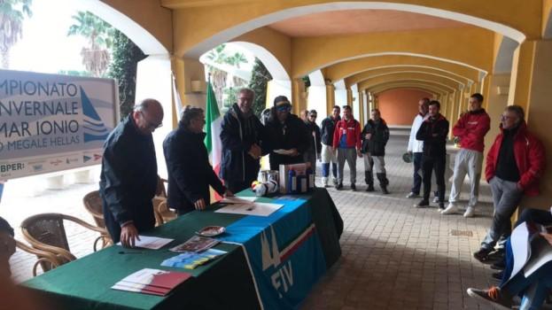 Anlù scavalca Karma nella terza prova del Campionato invernale di Vela del Mar Jonio.
