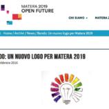 MATERA 2019: MISTERO SULLA VOTAZIONE PUBBLICA DEI TRE LOGHI FINALISTI