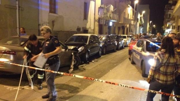 Incidente in via Marconi a Matera: 8 auto coinvolte