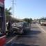 Auto in fiamme sulla Strada Statale 7 nei pressi di Matera. Lunghe code