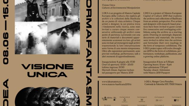 """""""Visione Unica"""", la mostra di Formafantasma alla Cava Paradiso nell'ambito del progetto I-DEA"""