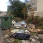 rifiuti in contrada Giardinelle